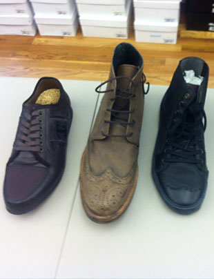 Men's Footwear at the CP Fashion Group Sample Sale