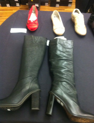 Women's Footwear at the CP Fashion Group Sample Sale