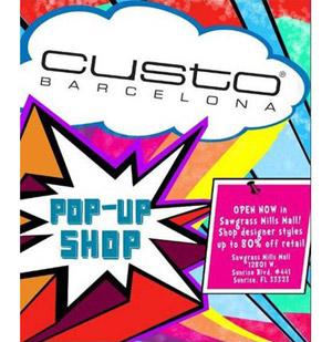 Custo Barcelona Pop Up Shop
