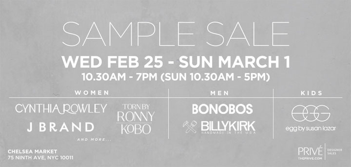 Cynthia Rowley, J Brand, & More Sample Sale