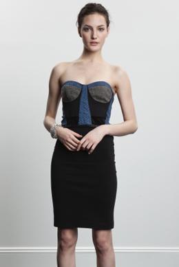 Dalin Chase Bustier Dress