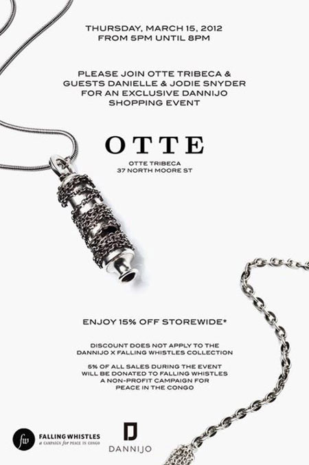 Dannijo Shopping Event at Otte Tribeca