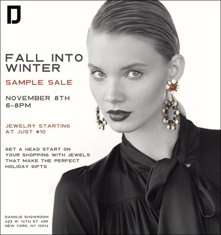 DANNIJO Sample Sale