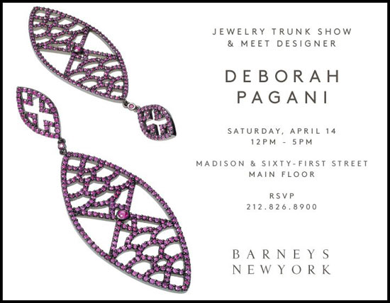 new york trunk shows deborah pagani jewelry trunk show
