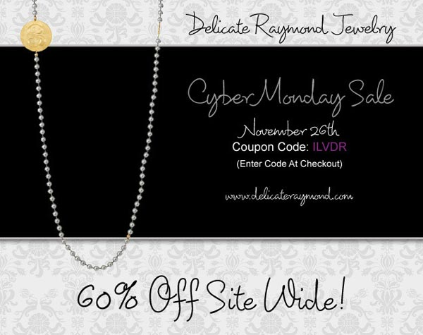 Delicate Raymond Cyber Monday Sale