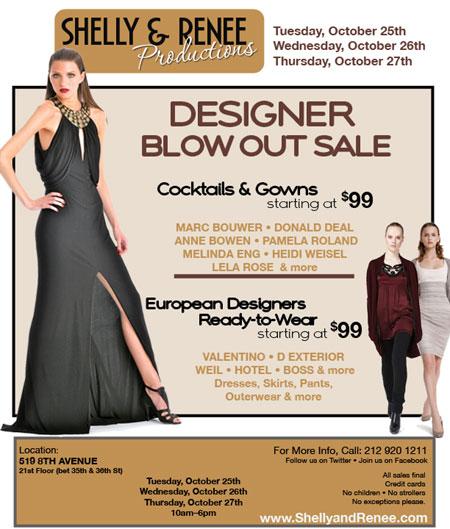 Valentino, Lela Rose & more Designer Blowout Sale