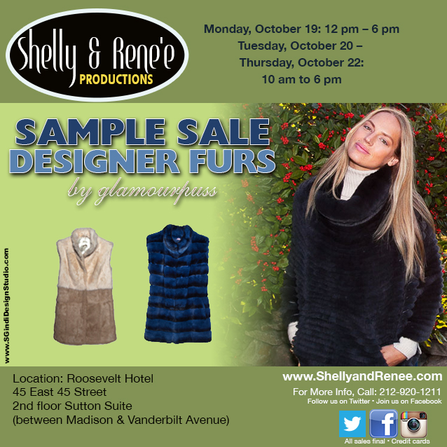 Designer Furs by Glamourpuss Sample Sale