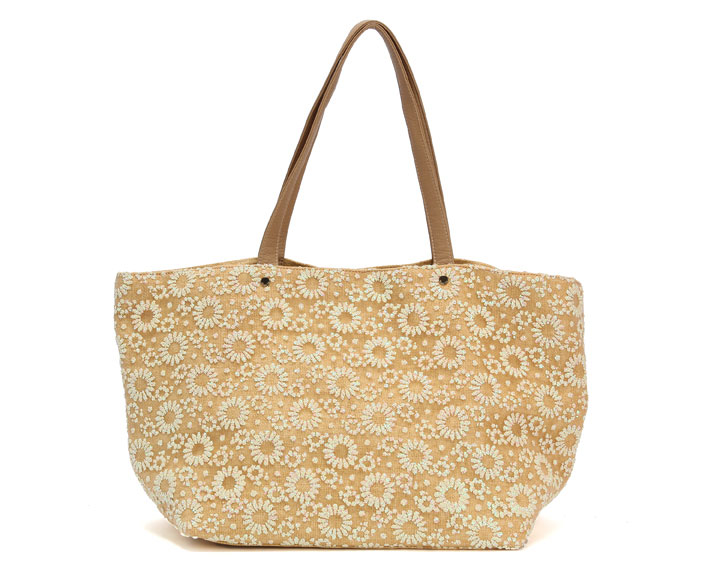 Deux Lux Mimosa tote in cream