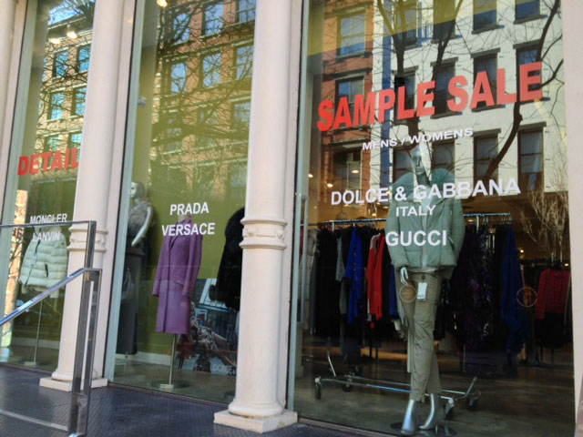 Dolce & Gabbana, Moncler & more Clothing New York Sale ...