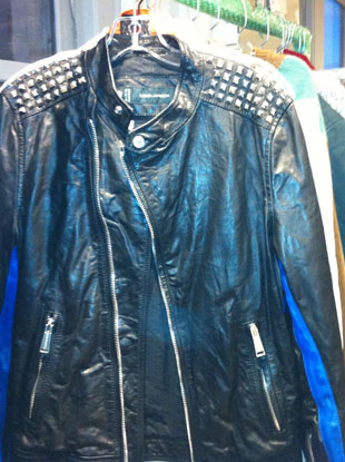 Dsquared Men's Leather Spiked Jacket $917 {size 44}