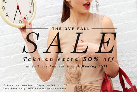 DVF Fall Sale