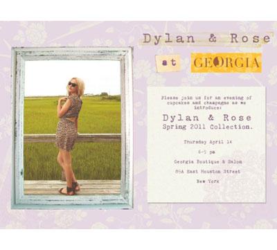 Dylan & Rose Pop-Up 4/14