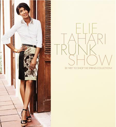 Elie Tahari Trunk Show