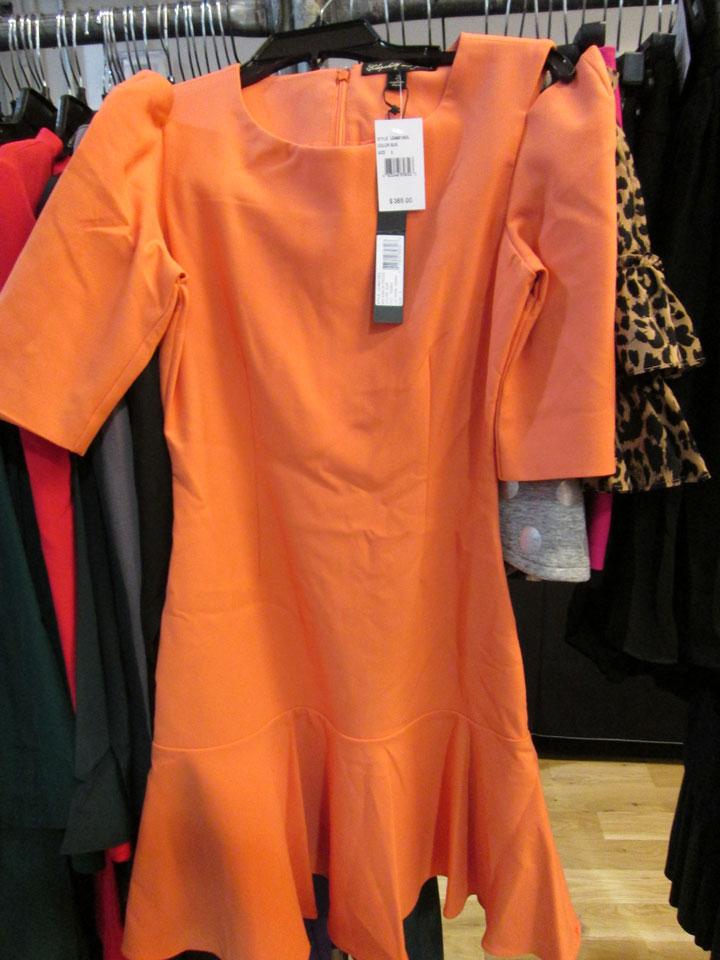 Dresses start at $100