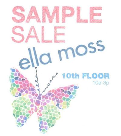 Ella Moss Sample Sale