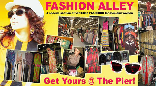 Fashion Alley at the Pier Antiques Show