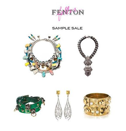 Fenton/Fallon Sample Sale