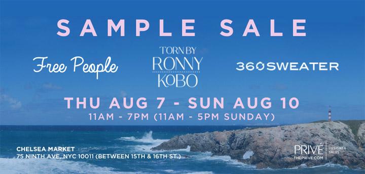 Free People, Torn by Ronny Kobo, & More Sample Sale