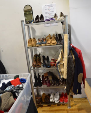 Small selection of shoes and boots at Gant Sample Sale