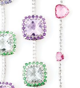 Droplets of Color: Gemstone Jewelry