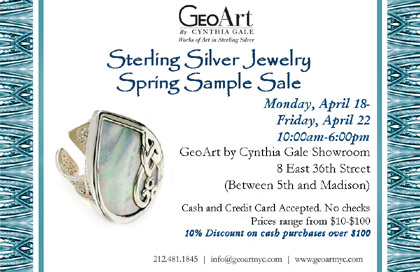 GeoArt Spring Sample Sale