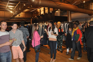 Girls just want to have fun at the Gilt Warehouse Sale