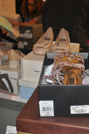 Weak Shoes Selection at the Gilt Warehouse Sale