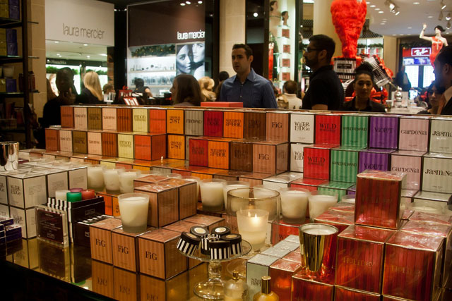 Candle Obsessed at Henri Bendel