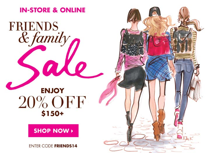 Henri Bendel Friends & Family Sale