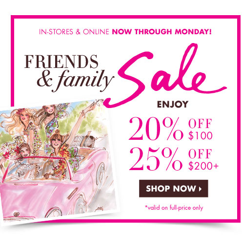 Henri Bendel Friends & Family Sale
