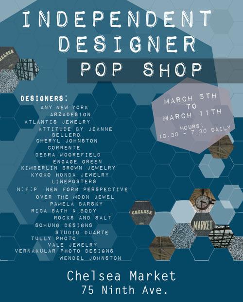 Independent Designer Pop Shop at Chelsea Market
