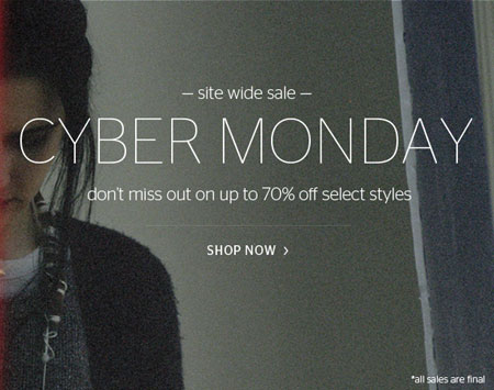 Inhabit Cyber Monday Online Sale
