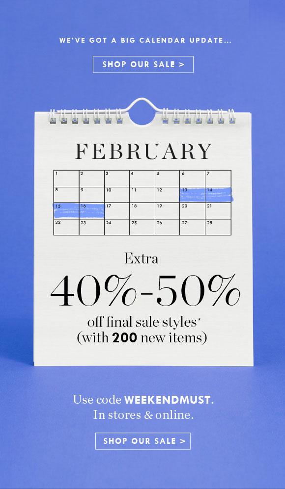 jcrew day weekend sale