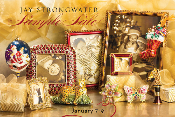 Jay Strongwater Winter 2016 Sample Sale