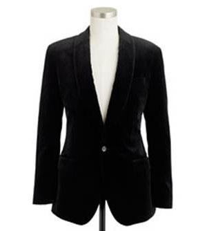 J.Crew Men's Ludlow Velvet Blazer: Orig $228, now $120