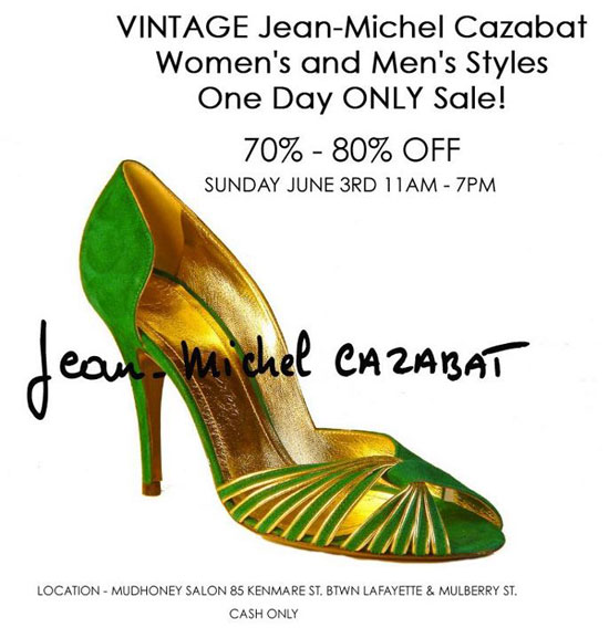 Vintage Jean-Michel Cazabat Sample Sale
