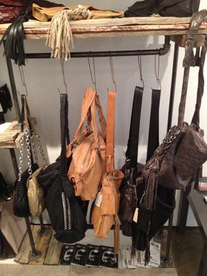 Jen MAscali Bags at X'Tige Showrooom Sample Sale