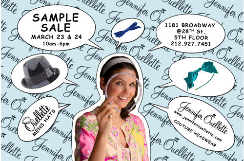 Jennifer Ouellette Sample Sale
