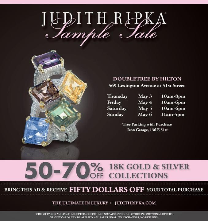 Judith Ripka Sample Sale