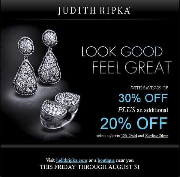 Judith Ripka Super Sale