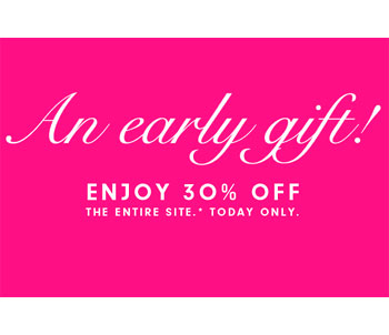 30% off at Juicy Couture: 11/28