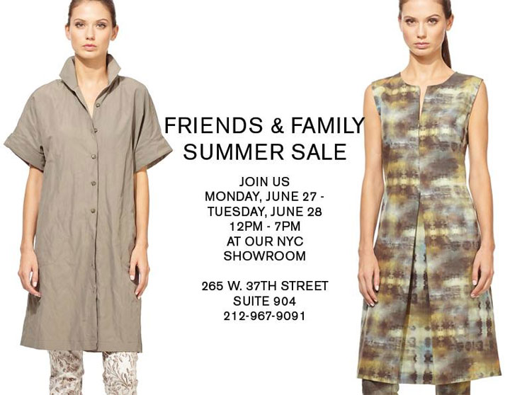Kal Rieman Friends & Family Summer Sale