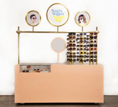 Karen Walker Candy Bar Pop-up Shop