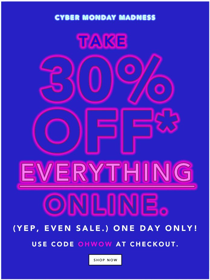 Kate Spade Saturday Cyber Monday Sale