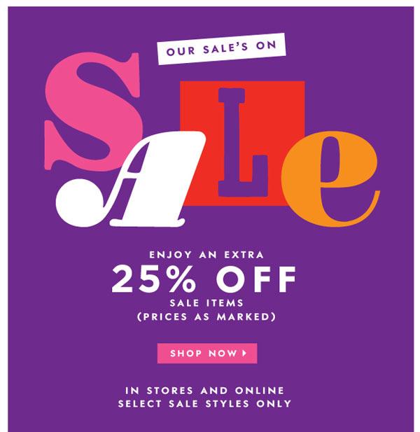 Kate Spade Summer Retail Sale