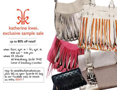 Katherine Kwei Sample Sale