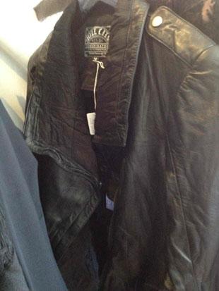 Kill City Cutout Leather Jacket ($276)