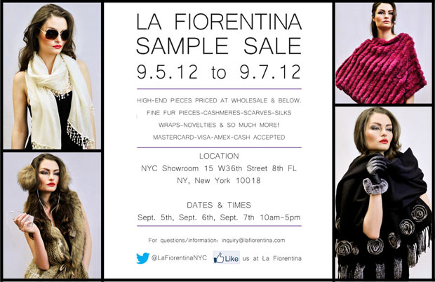 La Fiorentina Sample Sale