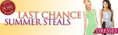 Last Chance Summer Steals