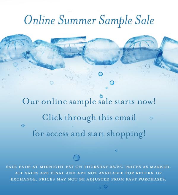 Lauren Merkin Online Sample Sale